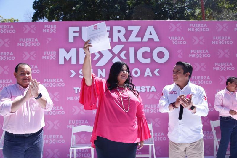 Estoy preparada para gobernar Sinaloa: Rosa Elena Millán