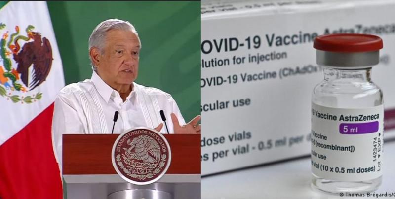 La próxima semana llegarán las 2.7 millones de vacunas de AstraZeneca que EEUU prestará a México
