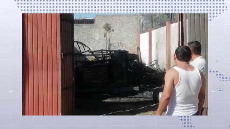Se incendia casa rodante en Colinas del Humaya