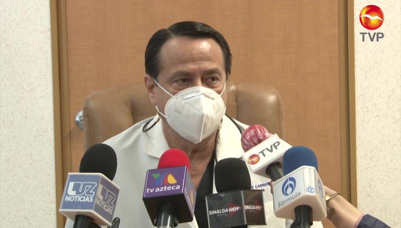 Hospital General de Mazatlán preparado para un posible repunte de casos de Covid-19