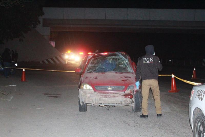 Accidente automovilístico deja una muerto