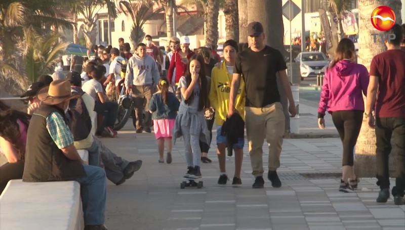 Turistas nacionales se están relajando en los protocolos sanitarios