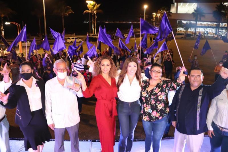 Convoca Judith Villa a una alianza por Mazatlán