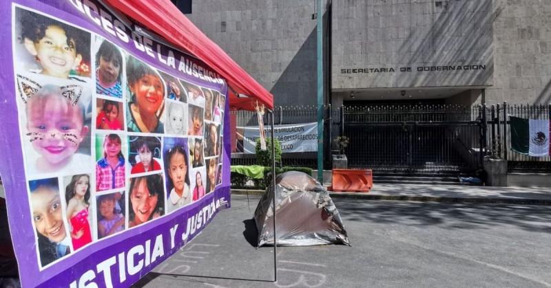 Margarita lleva 35 días de huelga de hambre frente a la Segob por el caso de su hija torturada y asesinada