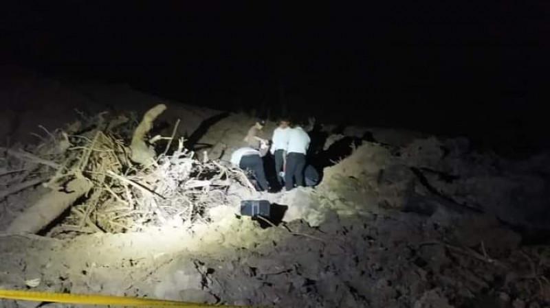 Encuentran restos cerca de El Armadillo