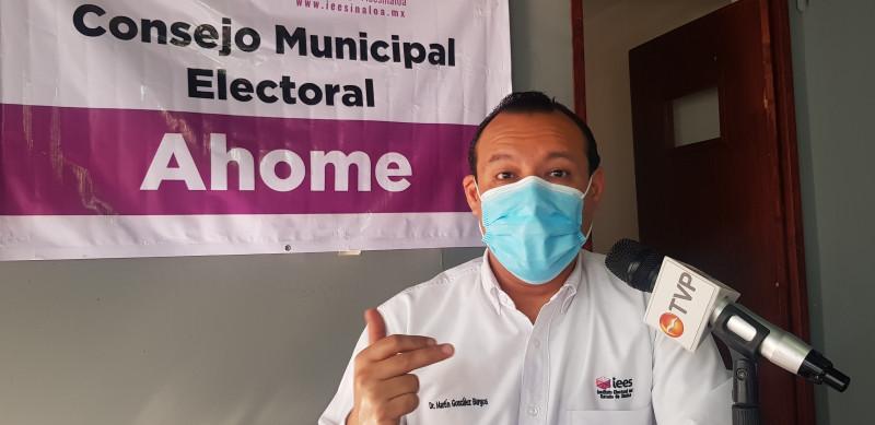 Vigila el consejo municipal electoral que se cumpla con lo permitido durante la campaña