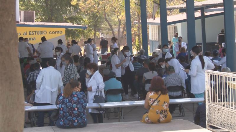 Inició la jornada de vacunación contra el covid19 para adultos mayores en Culiacán