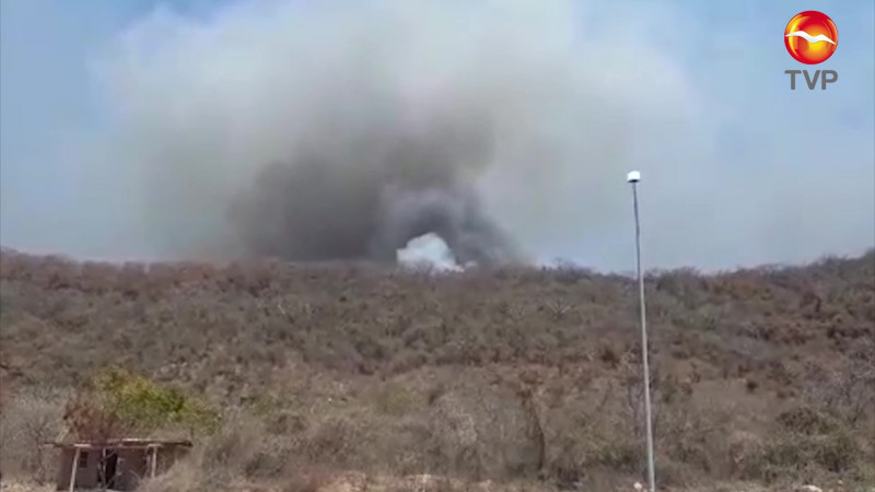 Pedirán intervención federal en incendios del Basurón Municipal