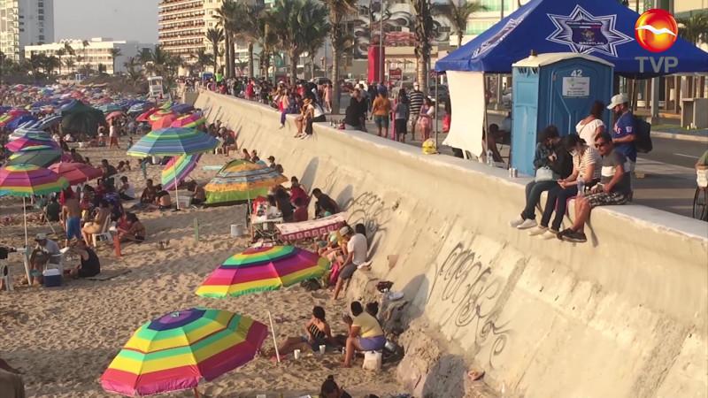 Fueron removidos 360 vendedores de playas en Semana Santa