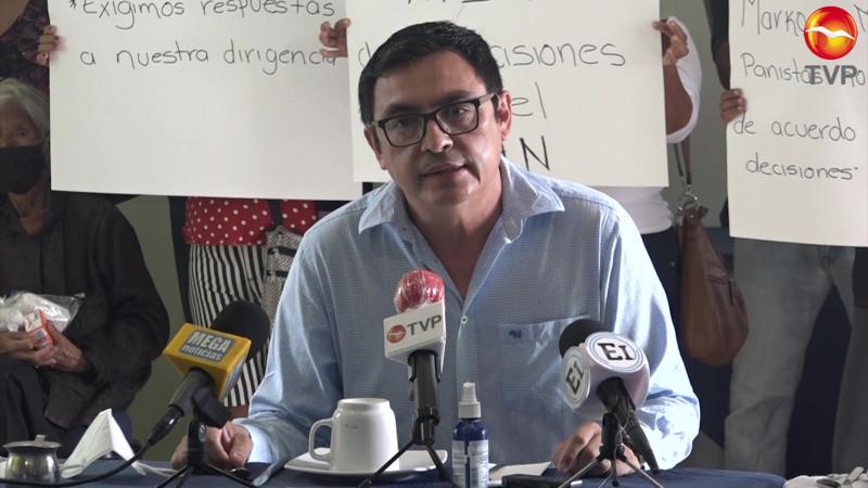 Exigen respuestas en Mazatlán de la dirigencia nacional del PAN
