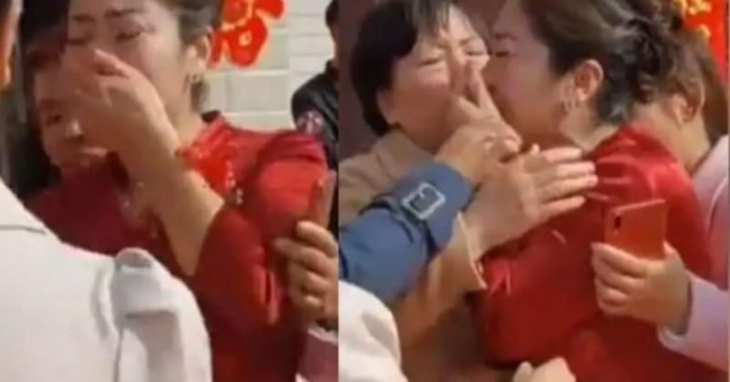 Mujer china encuentra a su hija perdida 20 años después... el día de la boda con su otro hijo