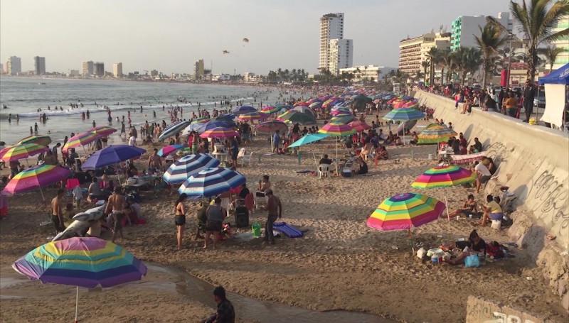 Vacaciones deja más de 900 millones de pesos de derrama económica en Mazatlán