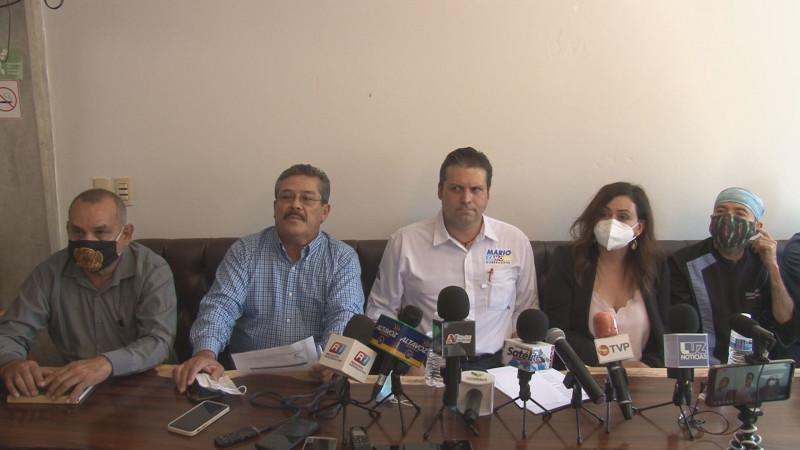 Mario Zamora sostiene reunión con líderes de la intercamaral Sinaloa