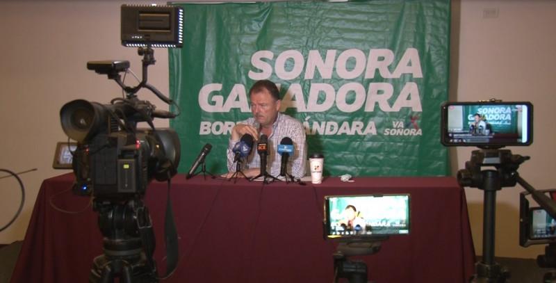 Ernesto Gandara no confirma su presencia en debate en Cajeme