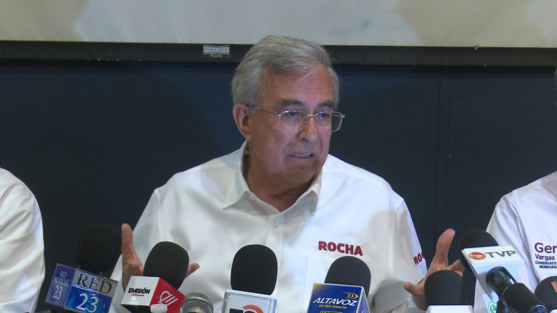 Rocha confía en el Iees, pero en el INE no ante cancelación de candidaturas a Morena