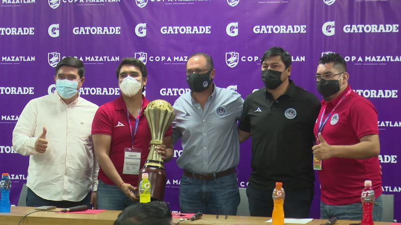 Anuncian Copa Mazatlán en alianza con Mazatlán FC