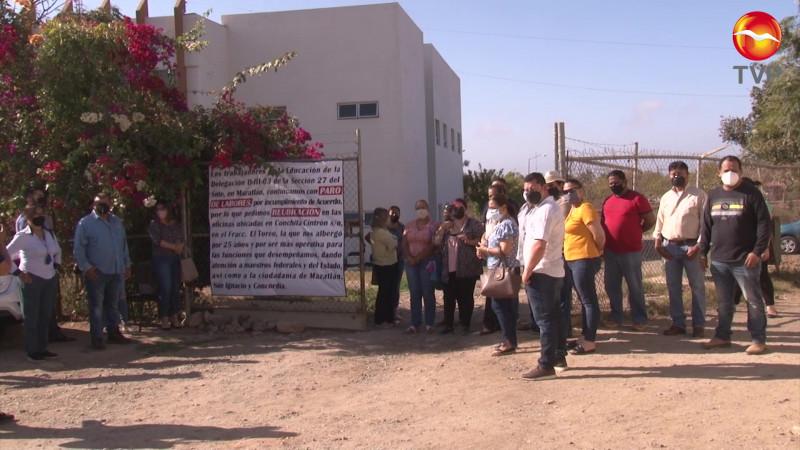 Exigen en Servicios Regionales de la SEPyC Mazatlán ser reubicados