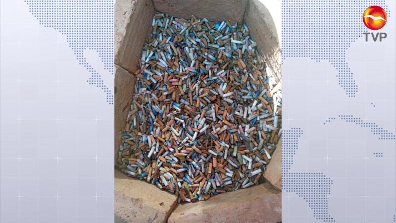 Evitan que 12 mil colillas de cigarros lleguen al mar en Mazatlán