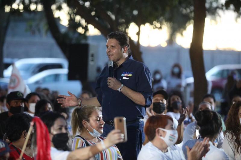Mi gran apuesta en esta elección, son las mujeres: Mario Zamora