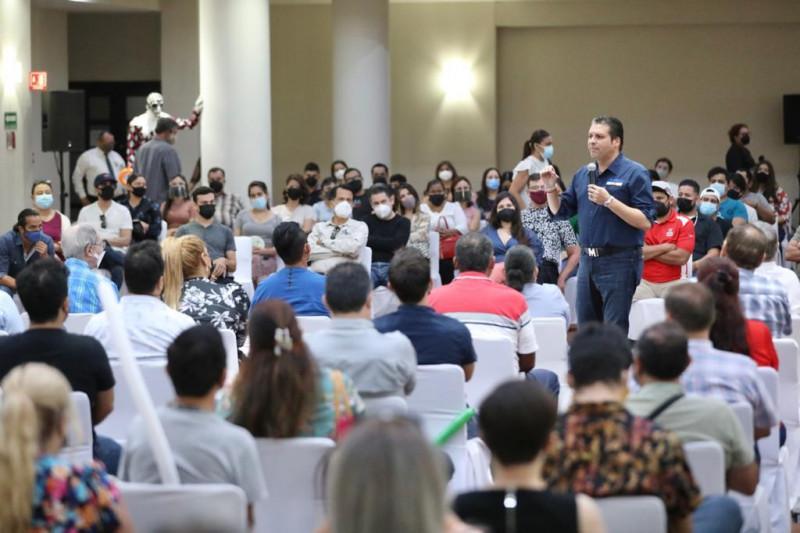 Propone Mario Zamora ambicioso proyecto para impulsar la cultura en Sinaloa