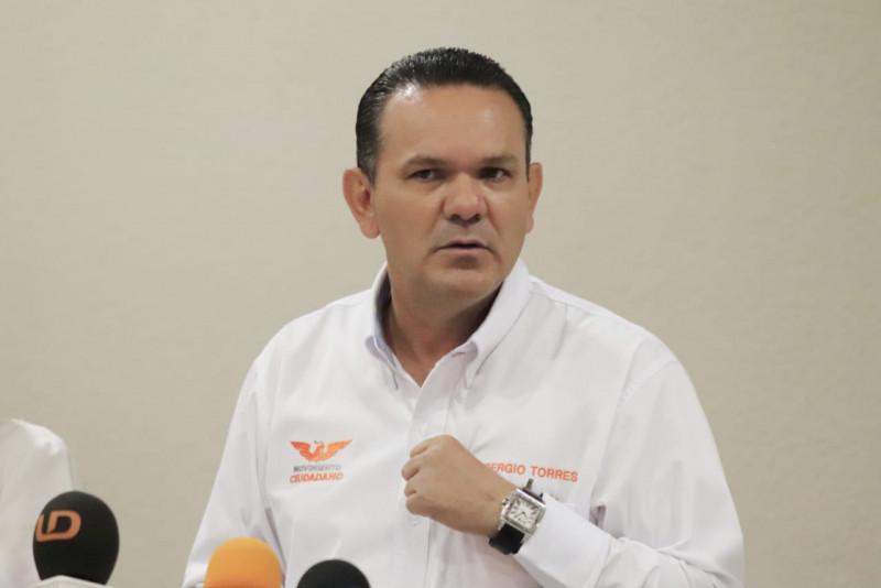 Presenta Sergio Torres y Movimiento Ciudadano 41 demandas en contra de alianzas