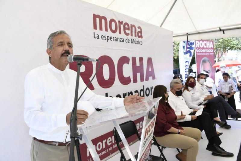 Encuestas nos favorecen, continuaremos la trasformación de Culiacán: Estrada Ferreiro