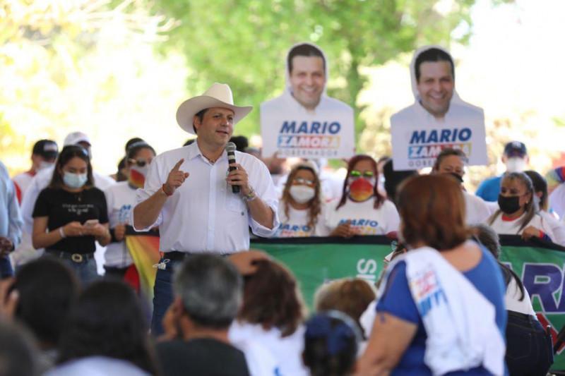 "Sandra Martos, de Morena, se suma a ""Va por Sinaloa""; ""eres una valiente"": Mario Zamora"