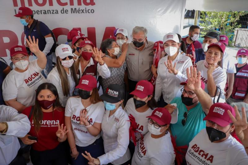 Pega jonrón equipo MORENA-PAS en preferencias electorales: Rocha Moya