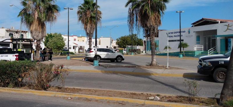 Matan a balazos a un hombre en el Fraccionamiento Real Pacífico en Mazatlán