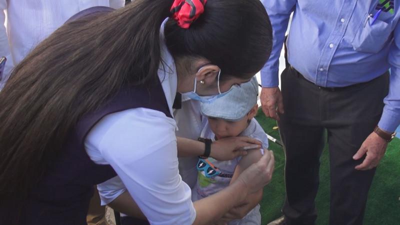 Arranca vacunación contra el sarampión en niños de Sinaloa
