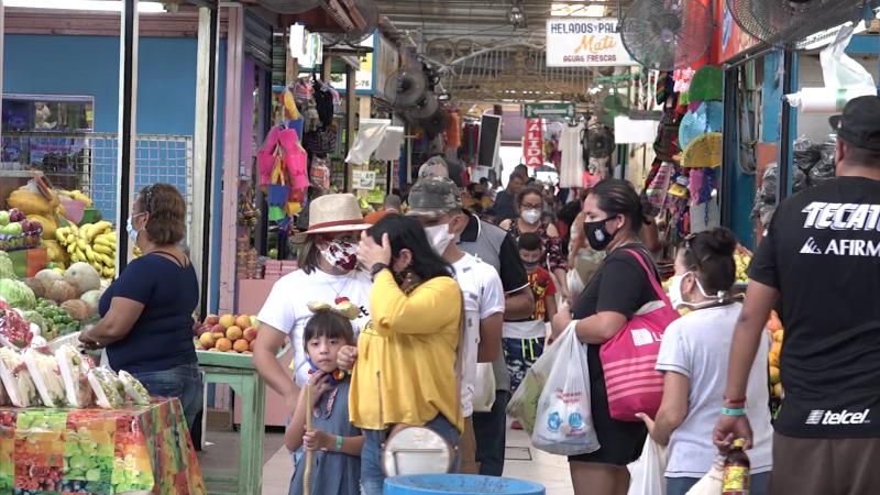 Ventas entre el 80 y 100 % en Mercado Pino Suárez