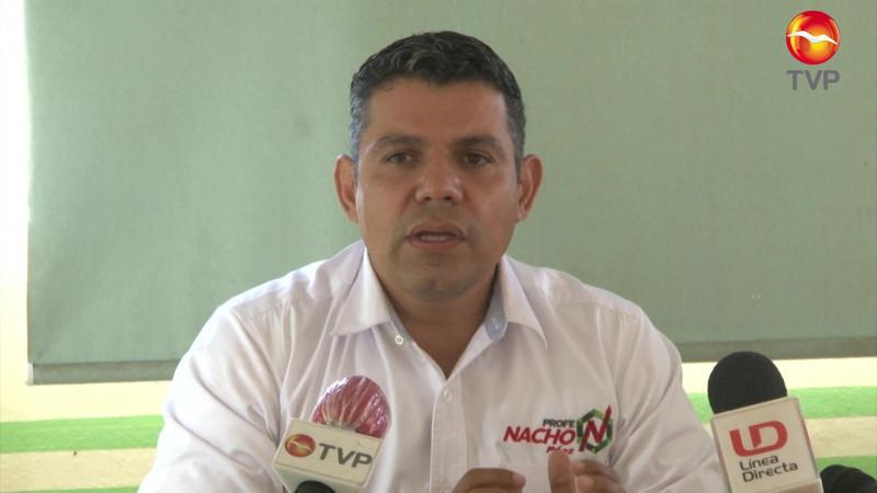 Es Nacho Páez, el candidato del PRI a la Alcaldía de San Ignacio