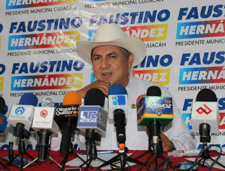 La gente razonará bien su voto porque ve en Faustino Hernández un proyecto serio e incluyente