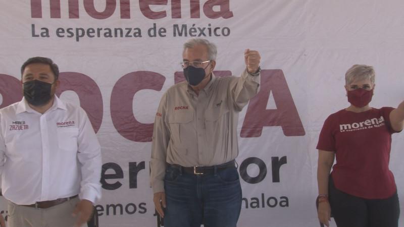 Rocha Mocha trabajará para combatir la corrupción en Sinaloa