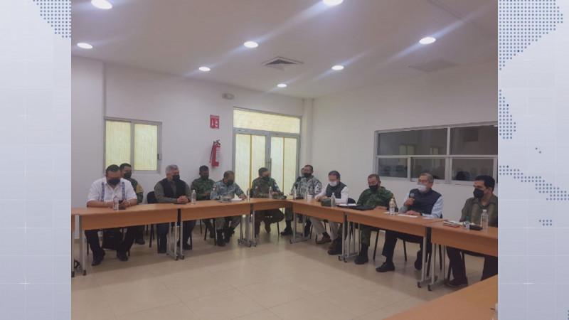 Mesa de Construcción de la Paz sesiona en Escuinapa
