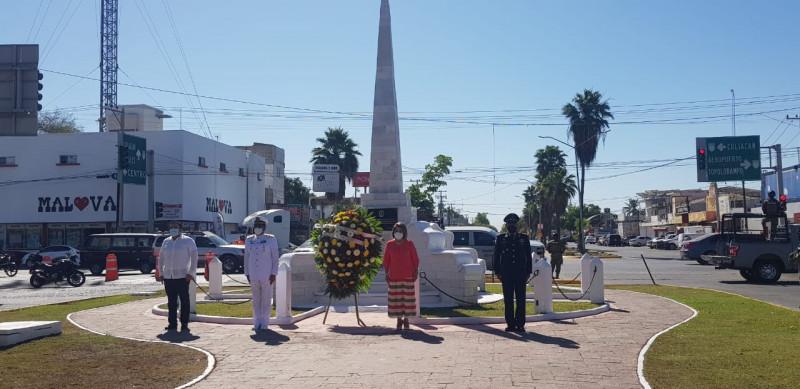 Conmemoran el 107 aniversario de la gesta heroica del puerto de Veracruz