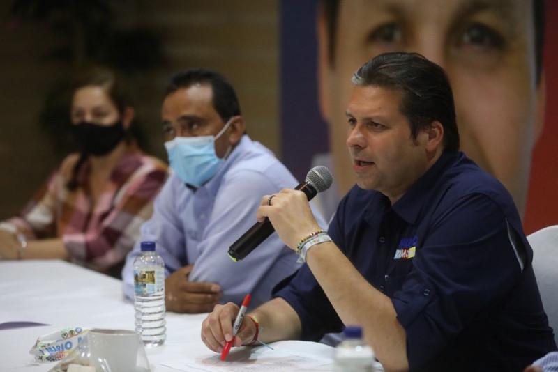 En mi gobierno la obra se adjudicará con total transparencia: Mario Zamora