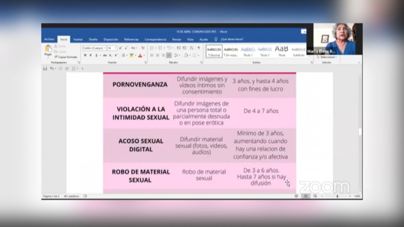 Activistas confían que aprobación de Ley Olimpia en México genere cambios en Sonora