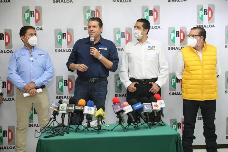 Mario Zamora llega fuerte a primer debate: PRI, PRD y PAN