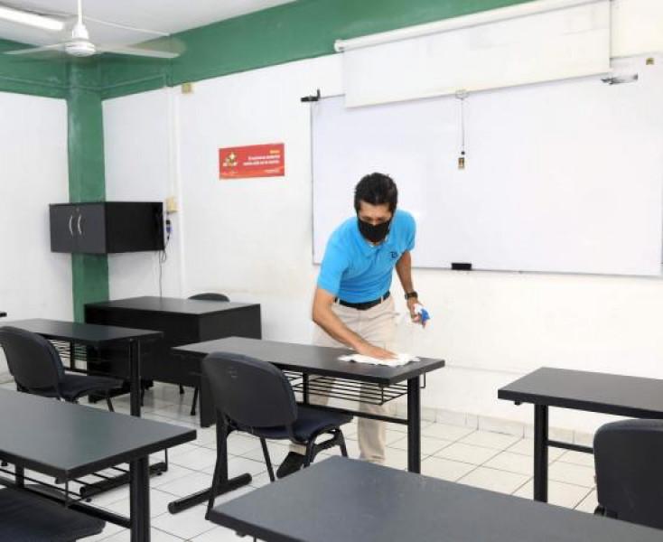 Centros Comunitarios de Aprendizaje deben cumplir estrictos protocolos sanitarios