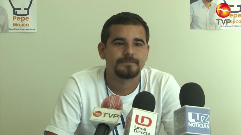 Integra Pepe Mojica la agenda anticorrupción a su proyecto político