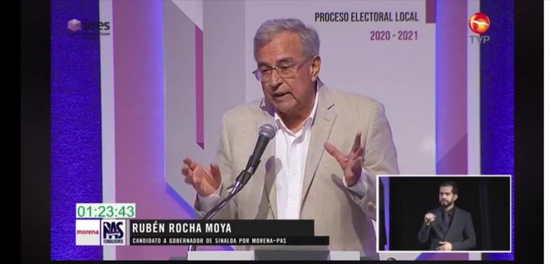Ganó Rocha el debate ampliamente:GVL