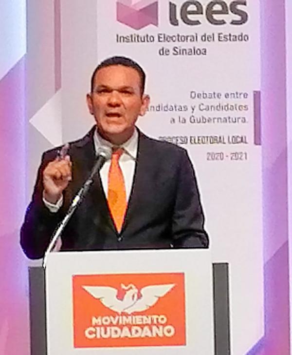 Con una amplia propuesta de gobierno para fortalecer a Sinaloa y su gente