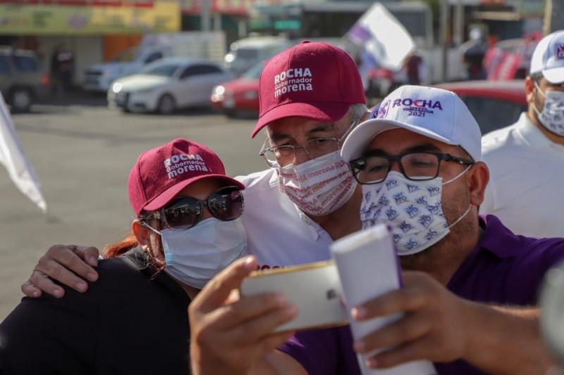 Atender tema del narcotráfico con política de Estado, propone Rubén Rocha Moya
