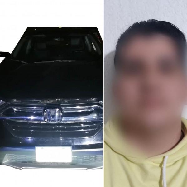 Recuperan vehículo robado en Escuinapa