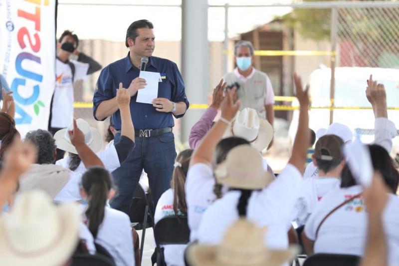 A concretar corredor Topolobampo a Texas y reubicar la caseta de San Miguel, se compromete Mario Zamora