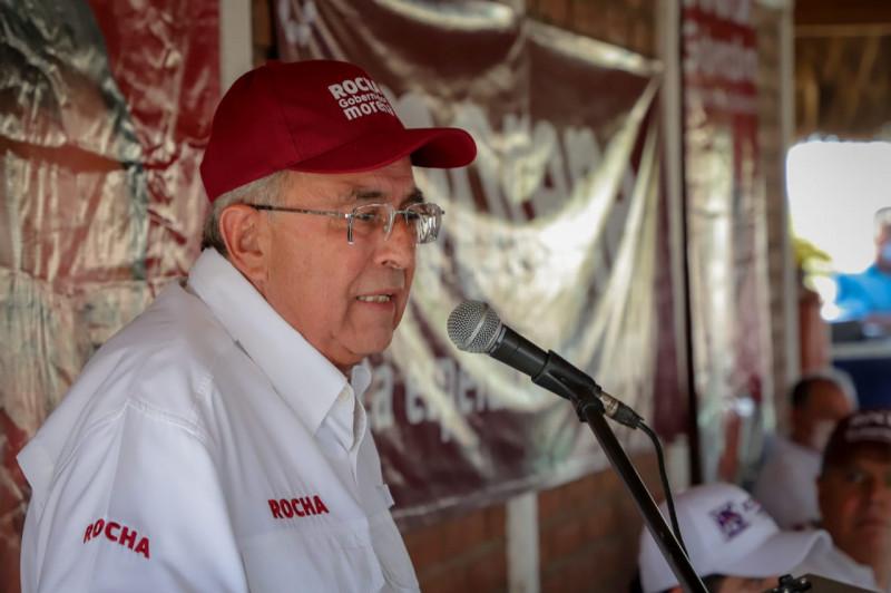 Los ganaderos van a tener con nosotros el apoyo que nunca han tenido: Rocha Moya