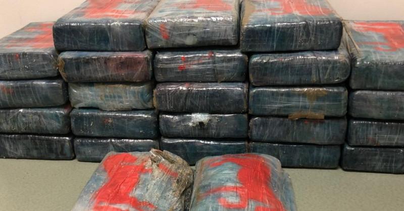 Un hombre se encontró en la playa 30 kg de cocaína con valor de 1.5 millones de dólares