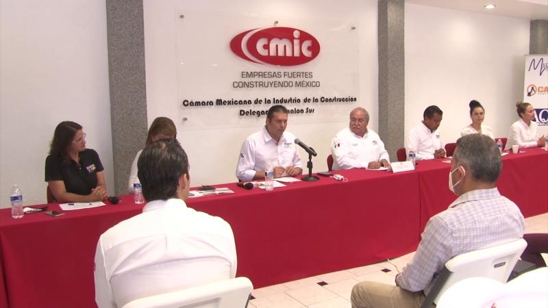 CMIC  entrega propuestas a candidatos de Coalición Va por Sinaloa