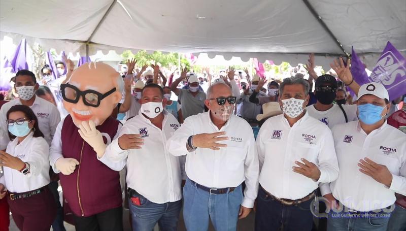 "Recorre ""Químico Benítez"" zona rural de Mazatlán"
